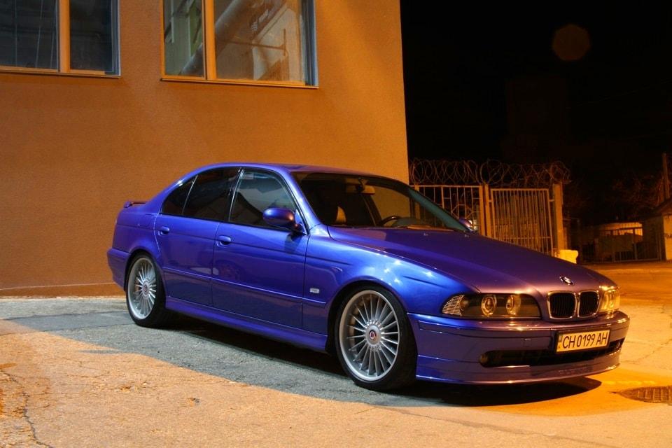 Голубая/фиолетовая Bmw e39
